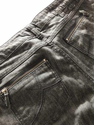 s.Oliver Stretch jeans zwart-grijs