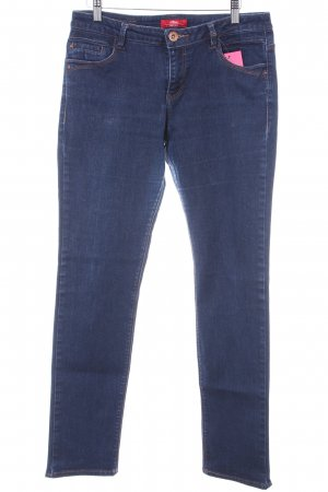 s.Oliver Stretch Jeans dunkelblau Casual-Look