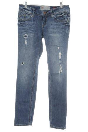 s.Oliver Stretch Jeans dunkelblau Jeans-Optik