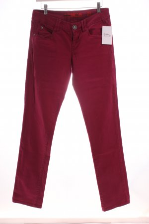 s.Oliver Stretch Jeans violett Casual-Look