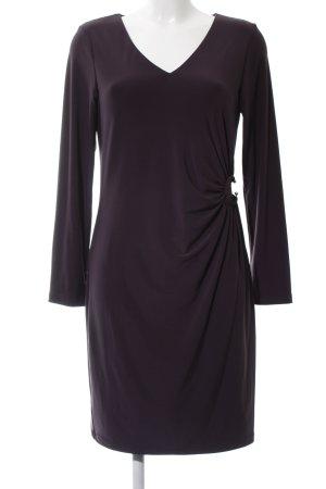 s.Oliver Stretch jurk lila zakelijke stijl