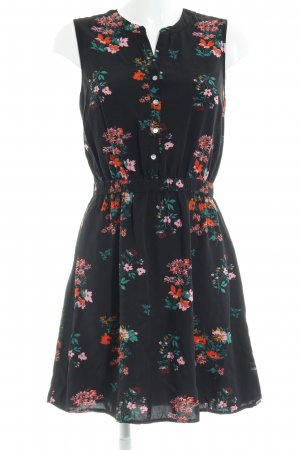 s.Oliver Stretchkleid florales Muster Casual-Look