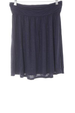 s.Oliver Stretchrock dunkelblau schlichter Stil