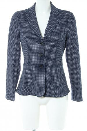 s.Oliver Knitted Blazer blue-white spot pattern business style