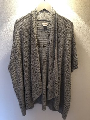 QS by s.Oliver Short Sleeve Knitted Jacket grey