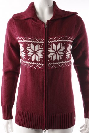 s.Oliver Strickjacke bordeauxrot