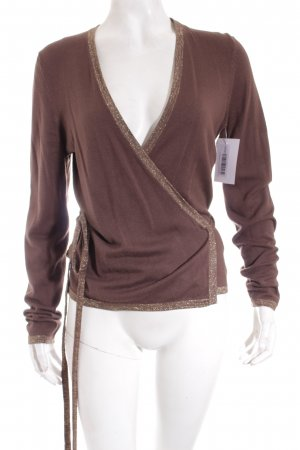 s.Oliver Strickjacke dunkelbraun Casual-Look