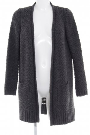 s.Oliver Strickjacke dunkelgrau Casual-Look