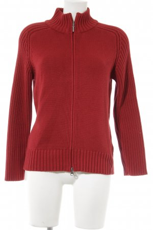 s.Oliver Strickjacke rot Casual-Look