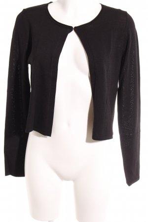 s.Oliver Strickjacke schwarz Casual-Look