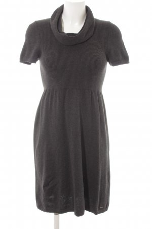 s.Oliver Knitted Dress anthracite urban style