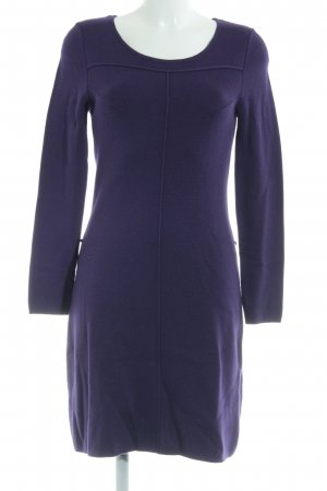 s.Oliver Knitted Dress dark violet elegant
