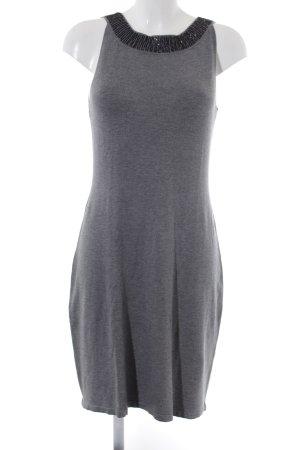 s.Oliver Knitted Dress light grey-black elegant