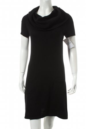 s.Oliver Strickkleid schwarz Casual-Look
