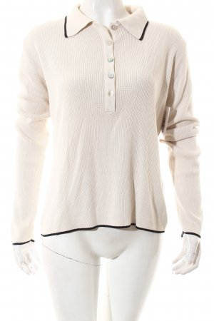 s.Oliver Strickpullover creme Casual-Look