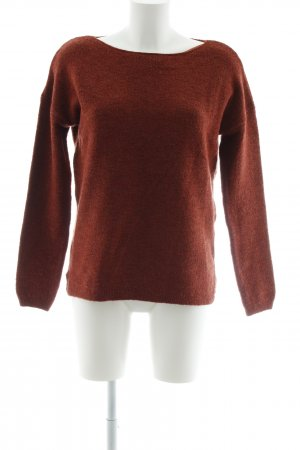 s.Oliver Strickpullover dunkelrot Casual-Look