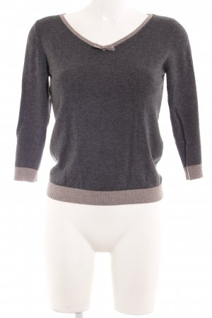 s.Oliver Strickpullover graubraun-camel Casual-Look