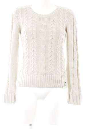 s.Oliver Strickpullover hellbeige Casual-Look
