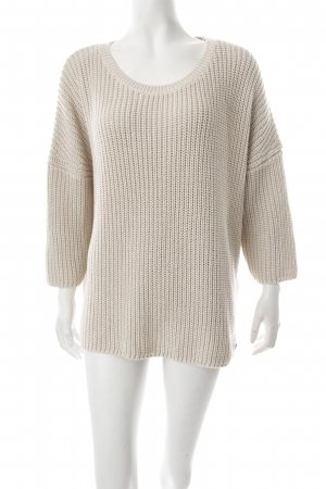 s.Oliver Strickpullover hellbeige Nude-Look