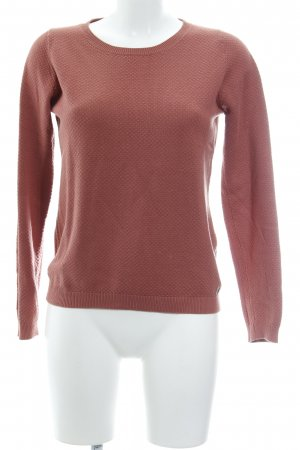 s.Oliver Strickpullover rostrot Casual-Look