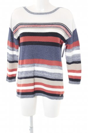 s.Oliver Strickpullover Streifenmuster Casual-Look