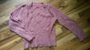 s. Oliver Strickpullover Wolle altrosa