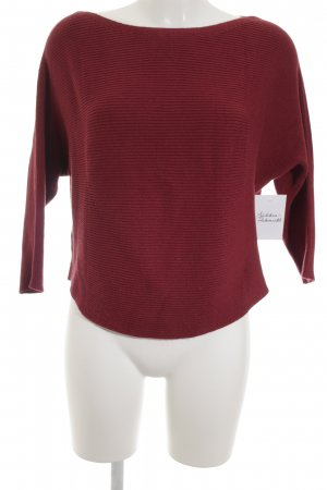 s.Oliver Strickpullover ziegelrot Casual-Look