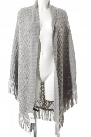 s.Oliver Knitted Scarf grey casual look