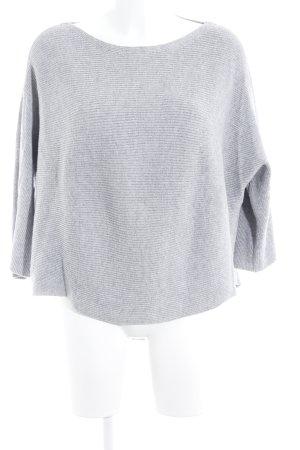 s.Oliver Camisa tejida gris claro estilo boyfriend