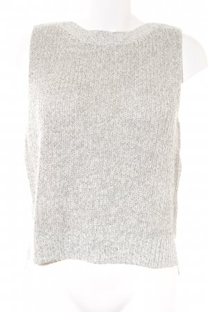 s.Oliver Knitted Jumper white-dark grey casual look