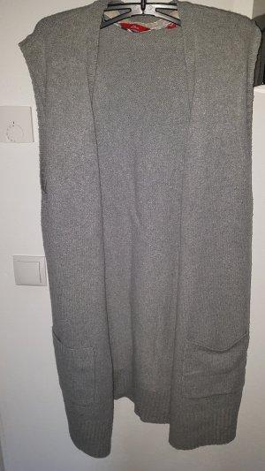 s.Oliver Gilet tricoté gris clair