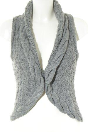 s.Oliver Smanicato lavorato a maglia grigio chiaro-grigio stile casual