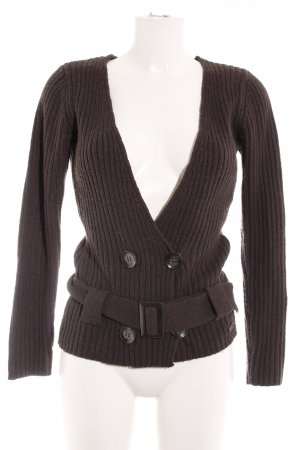 s.Oliver Strickwickeljacke anthrazit Casual-Look
