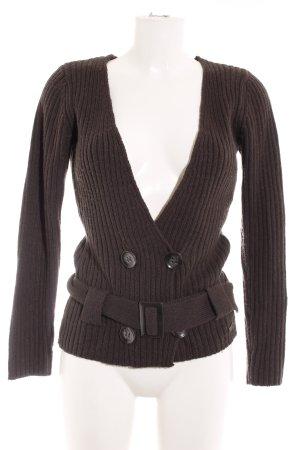 s.Oliver Cache-cœur en tricot gris anthracite style décontracté