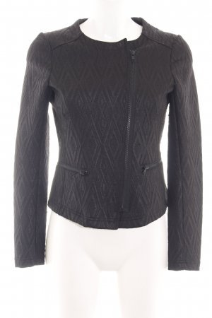 s.Oliver Sweat Blazer black graphic pattern business style