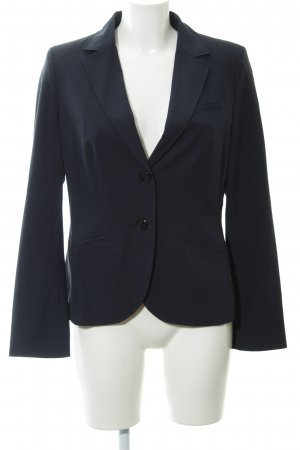 s.Oliver Sweat Blazer dark blue houndstooth pattern business style