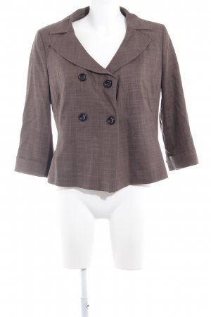 s.Oliver Sweatblazer hellbraun Business-Look