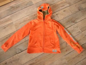 S. Oliver Sweatjacke orange in Gr. 152