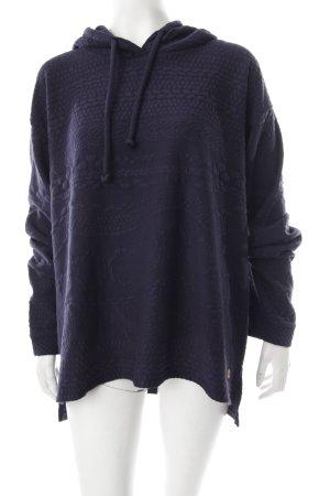 s.Oliver Sweatshirt blau abstraktes Muster sportlicher Stil