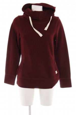s.Oliver Sweatshirt bordeauxrot Casual-Look