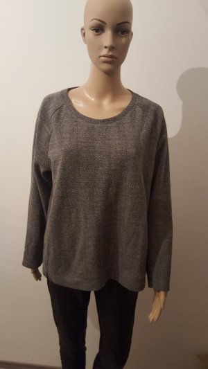 S.Oliver Sweatshirt Damen Pullover grau Größe 44 Pulli