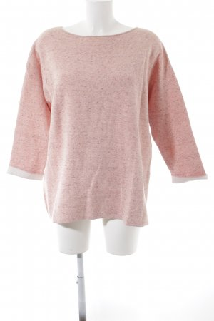 s.Oliver Sweatshirt lachs-rosa meliert Casual-Look
