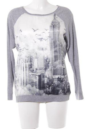 s.Oliver Camiseta estampado con diseño abstracto look casual