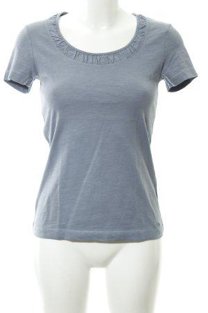 s.Oliver T-Shirt blassblau Casual-Look