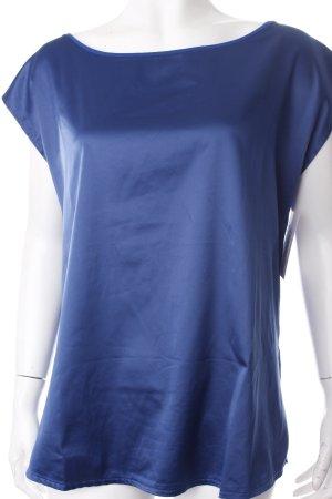 s.Oliver T-Shirt blau schlichter Stil