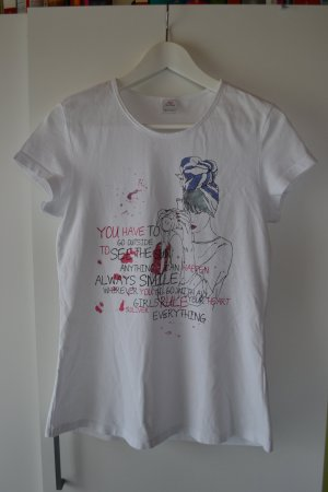 s.Oliver T-Shirt bunter print Gr. 36