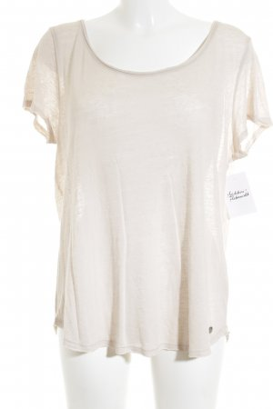 s.Oliver T-Shirt creme Casual-Look