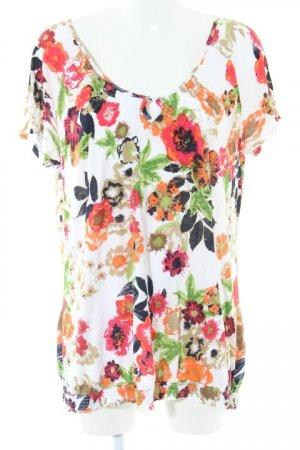 s.Oliver T-Shirt florales Muster Casual-Look