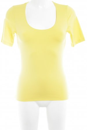 s.Oliver T-Shirt gelb Casual-Look