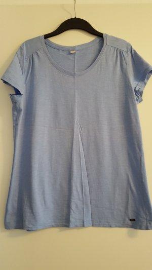 S.Oliver T-Shirt, hellblau, Gr. 46